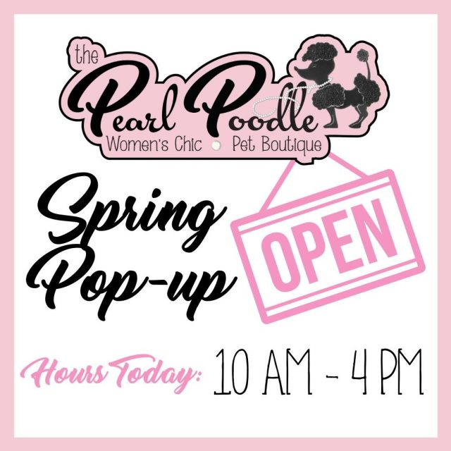 Come out and see us today - we have some awesome new inventory for Spring and Summer!
