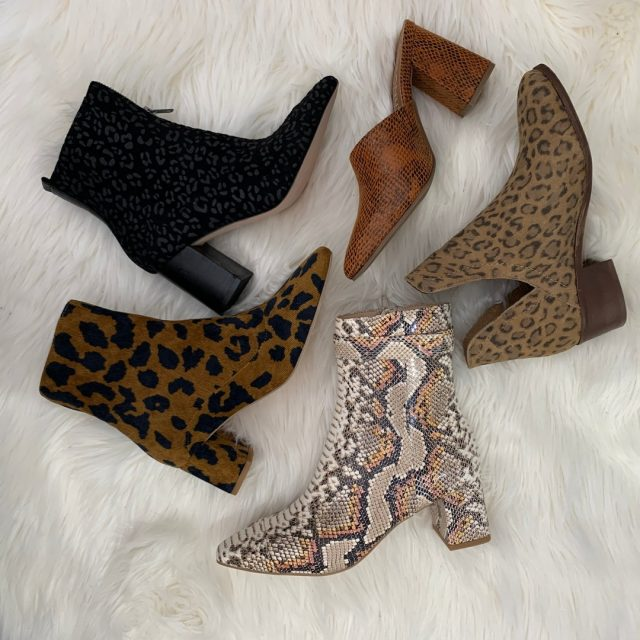 We're going wild about our animal print shoes! Walk your way into a stylish New Year!